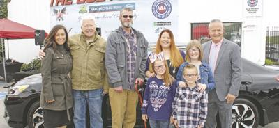 Ben Clymer's the Bodyshop donates another car to a needy Yucaipa family