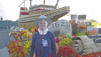 Yucaipa resident kicks off 400th anniversary of The Voyage of the Mayflower at Rose Parade