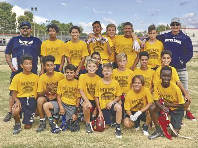 Mesa View Middle School captures flag football championship game