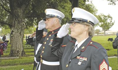 Memorial Day ceremony honors fallen heroes