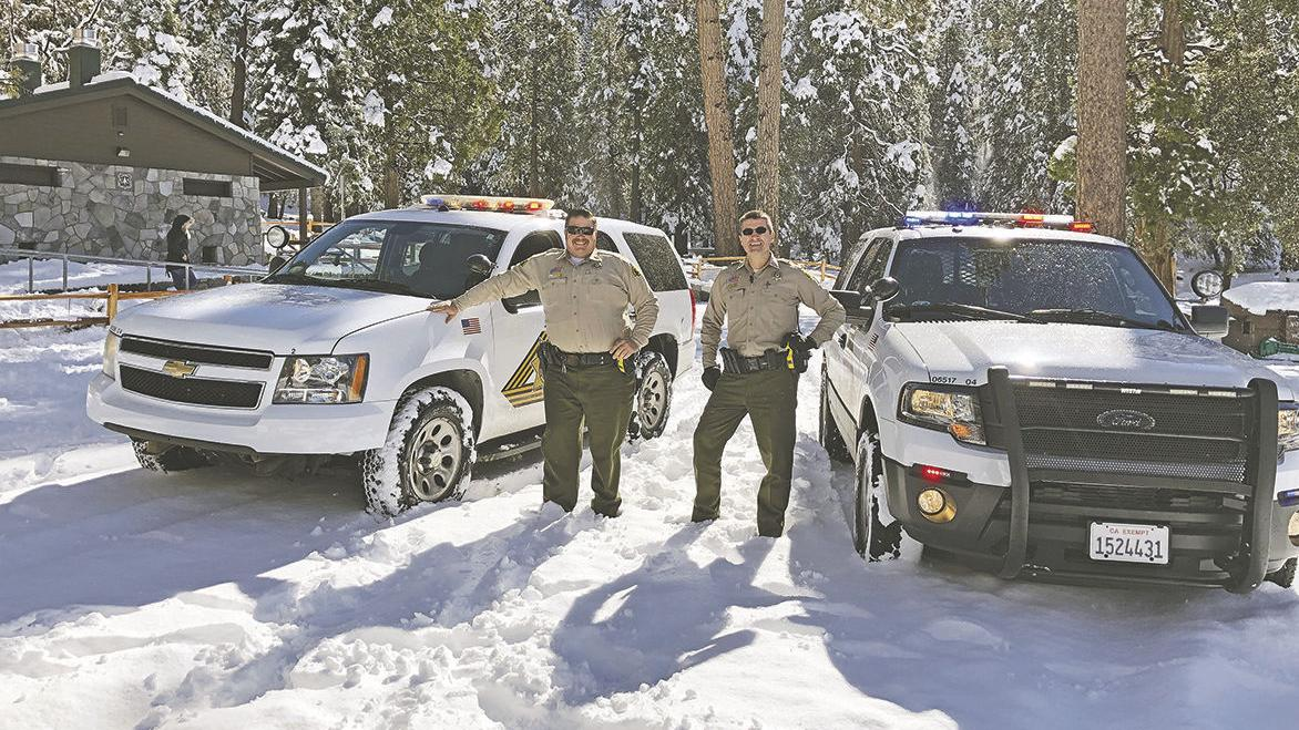 Snow in Forest Falls brings visitors and  problems for some locals
