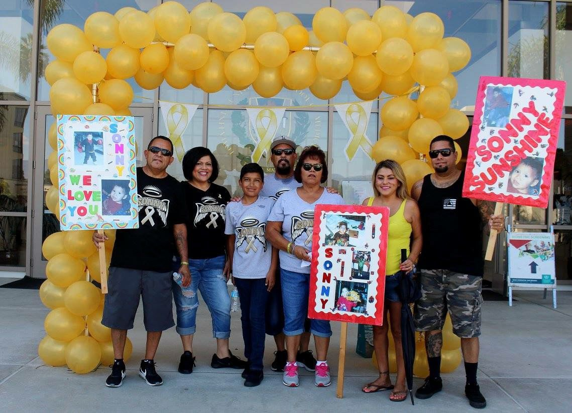 Local families participate in Childhood Cancer Kids Walk