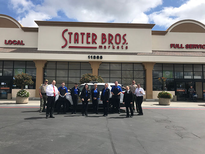Yucaipa Police Department feeds approximately 50 employees at local grocery store