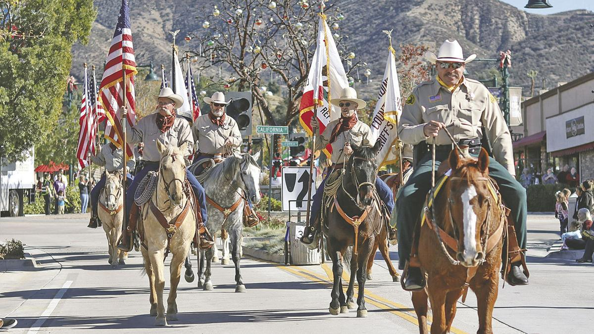 Hundreds attend Yucaipa's Hometown Heroes; Salute to Freedom Christmas Parade