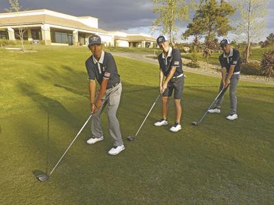 Bashaw, Nunez, Vrolyks lead YHS golf team to CBL win against Citrus Valley High School