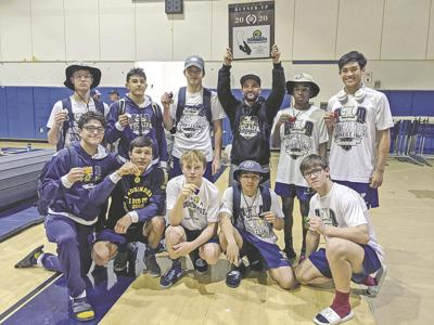 Yucaipa High School Champions highlight CIF Southern Section Wrestling at Carter High