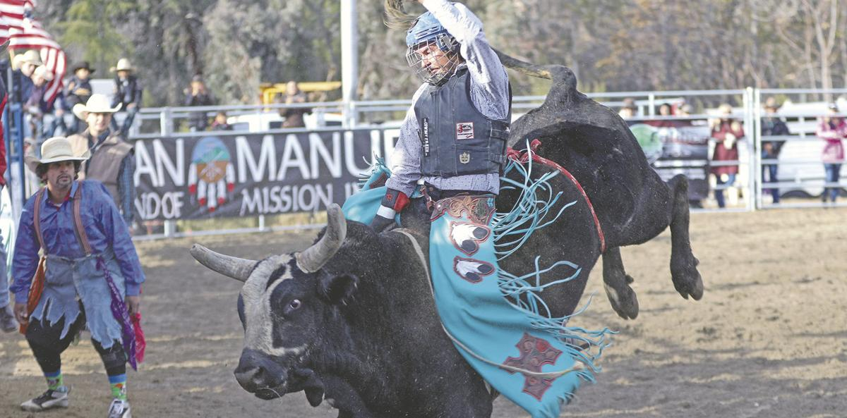 Sold out crowd at Yucaipa's rodeo raises thousands for Dottie Potter arena cover