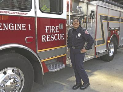 Lauren Olvera is Calimesa's Firefighter of the Year