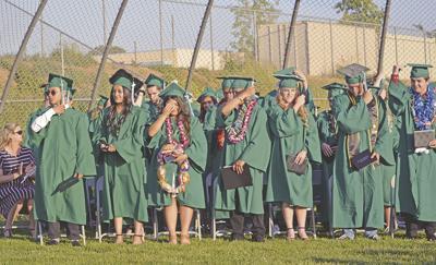 Green Valley High School and Yucaipa-Calimesa Online Academy celebrate 67 graduates