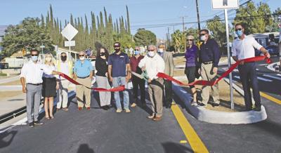 Avenue E roundabouts get official ribbon cutting