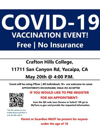 Vaccine event