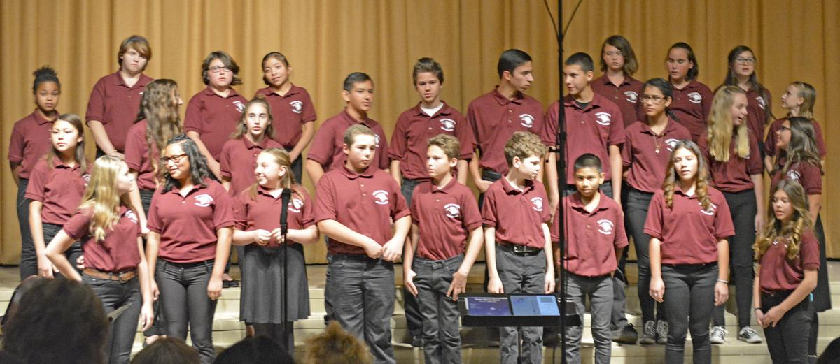Winter Choral Concert celebrates the Christmas season