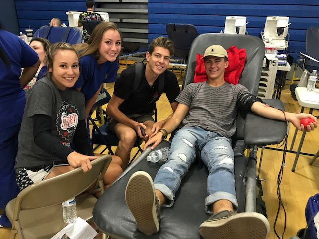 Yucaipa High School students rock LifeStream blood drive