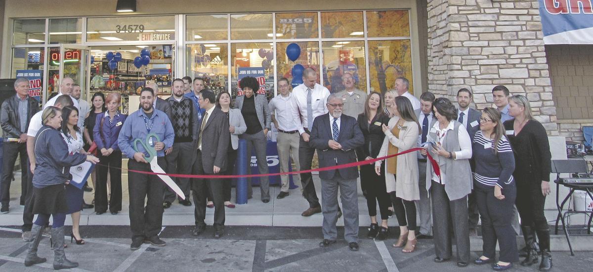 Yucaipa's Big 5 gets official ribbon cutting