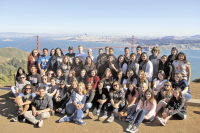 YHS AVID students tour colleges and universities