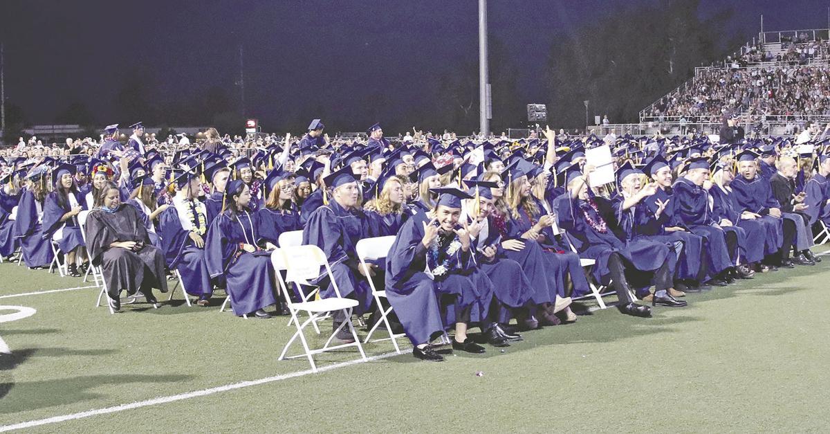 Fireworks culminate the joy at Yucaipa High's graduation