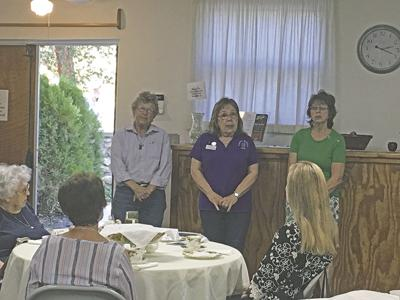 Woman's Club Evening section holds annual membership tea in Oak Glen