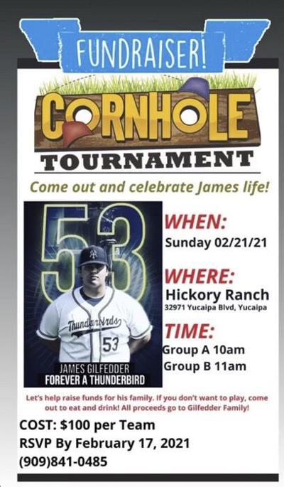 Corn hole fundraiser