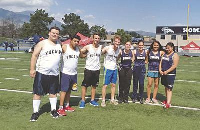 Yucaipa High School Unified Track and Field Team qualifies for Masters Meet