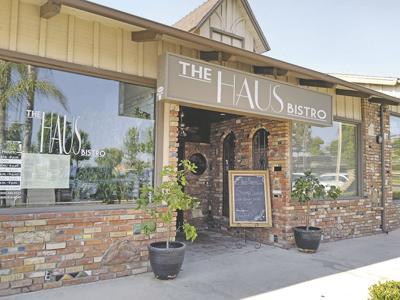 The Haus Bistro offers international cuisine