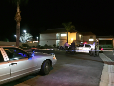 Site of the shooting in Calimesa