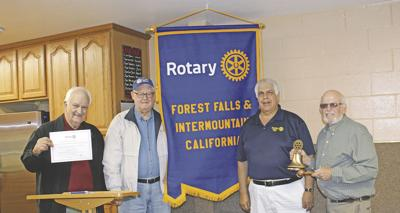Rotary Charter fundraiser in Forest Falls brings neighboring communities together