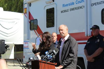 Sandalwood Fire press conference