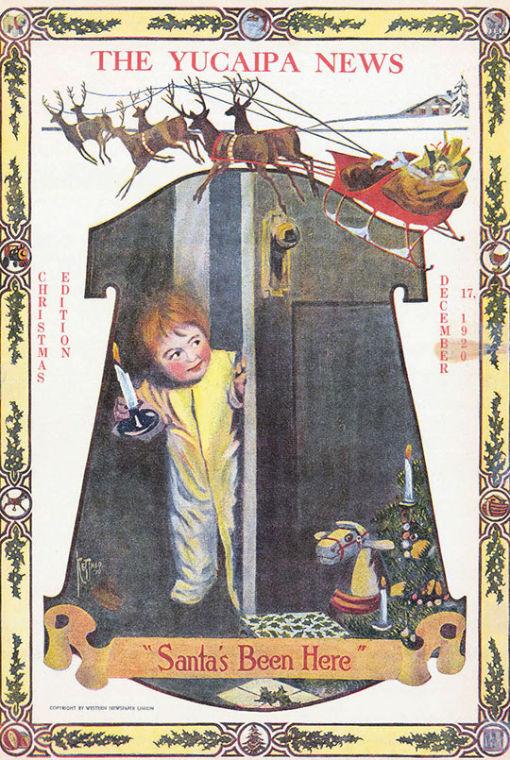 Christmas Cover 1920