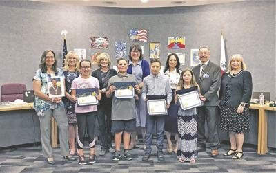 Local students recognized at Board of Ed meeting