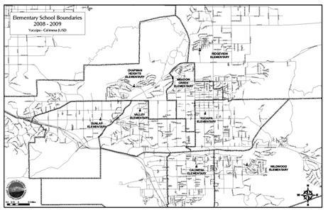 Elementary school boundaries designated for 2008/09 school