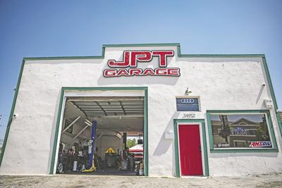 JPT Garage is one of two local shops for local business owner