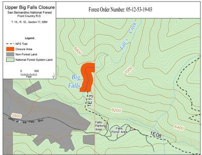 Upper Big Falls Closure