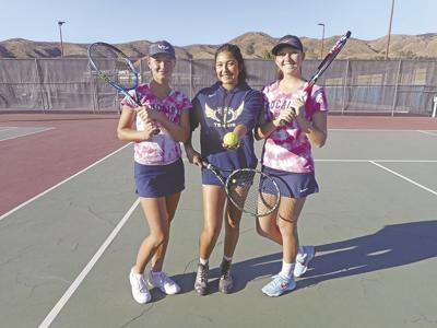 YHS tennis team melds cross section of students into a successful formula