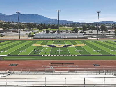 Yucaipa High School gets a new field