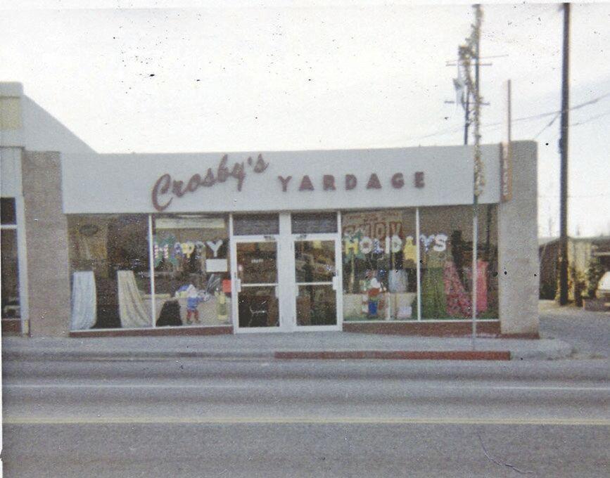 Crosby's Yardage:A memory of Yucaipa 'back when'