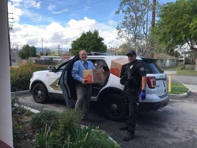 FSA and SBCSD HOPE team partners to deliver food to homeless