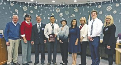 Valarde, Janssen and students take center stage at Yucaipa school district meeting