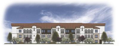 The Villas 55 plus senior housing project breaks ground
