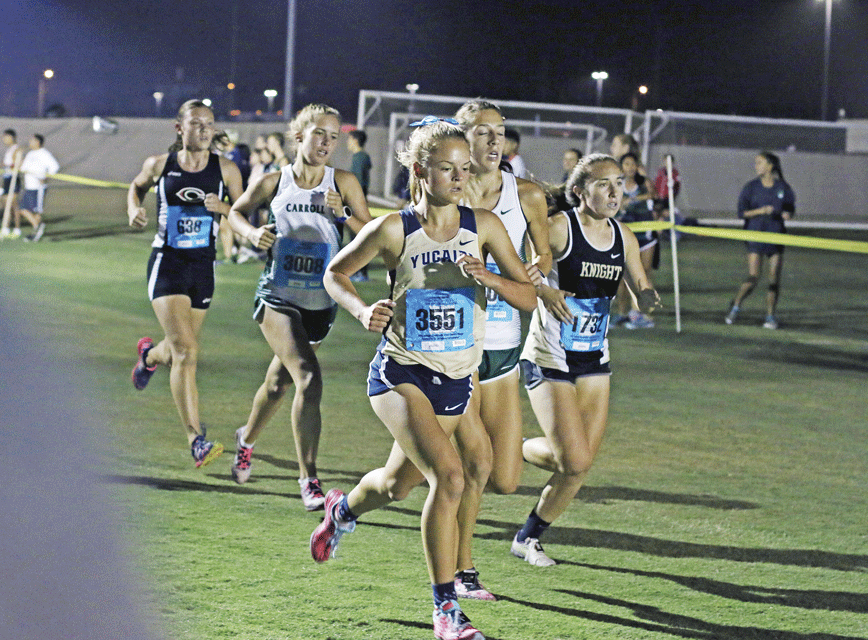 Yucaipa High School Cross Country team is off to a good start
