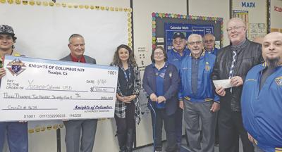 The Knights of Columbus give back in a big way