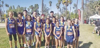 Cross country teams at Inland Leaders Charter School place first in Mountain Valley League