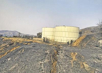 Yucaipa Valley Water District assists with firefighting efforts