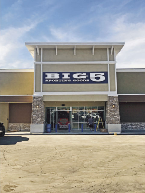 Big 5 Sporting Goods is finally open