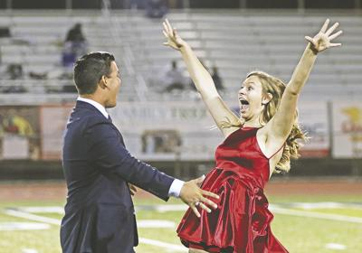 Yucaipa's homecoming ceremony includes fireworks and jubilation