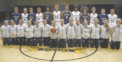 YHS girls and boys basketball teams kickoff season jointly in 'Madness' showtime event