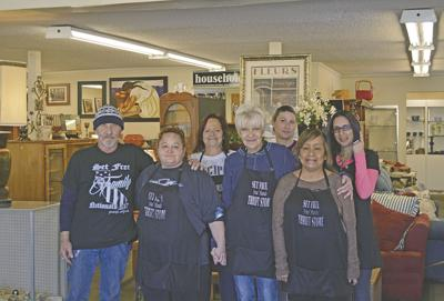 Set Free Thrift Store offers an abundance of gently used treasures