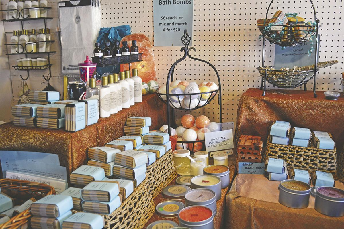 Natures Gifts in Oak Glen offers bath products