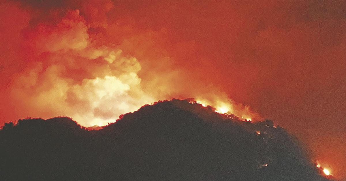 Fire forces hundreds of Forest Falls residents to evacuate