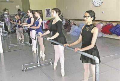 Classical dance in motion at San Gorgonio Ballet