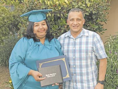 Inspirational moments at Yucaipa Adult School's recent graduation